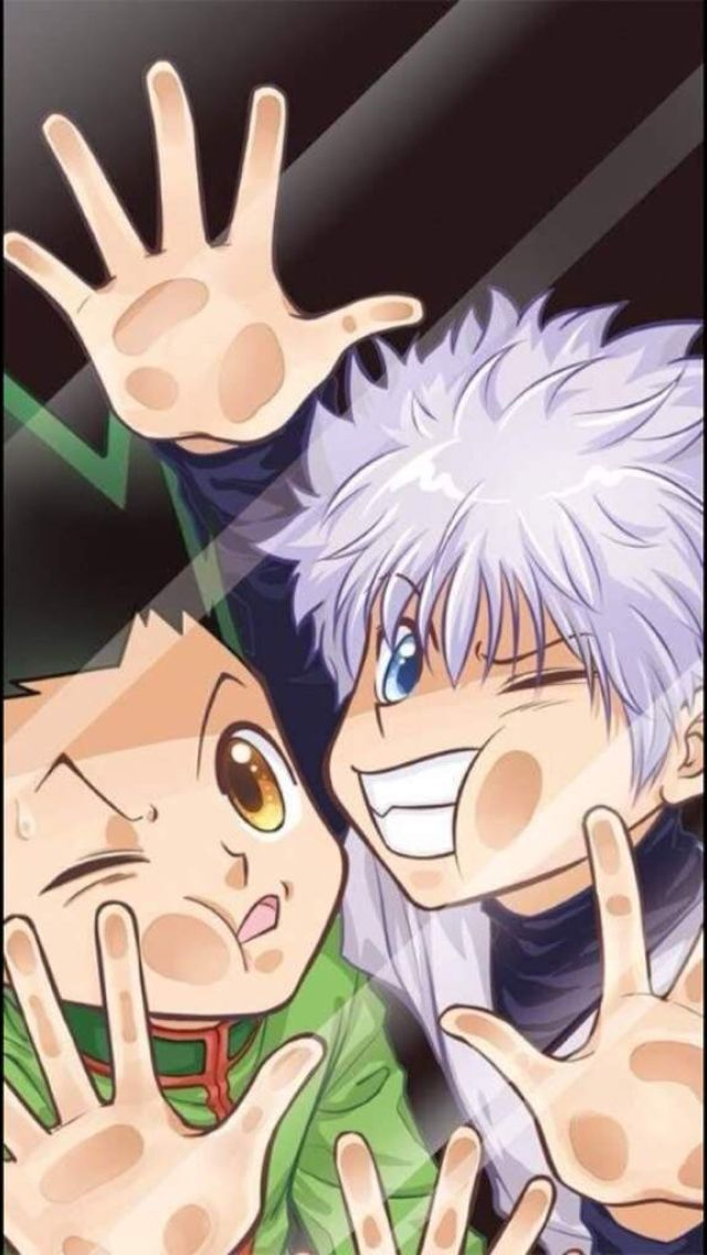Gon And Killua Wallpapers Iphone Kolpaper Awesome Free Hd Wallpapers