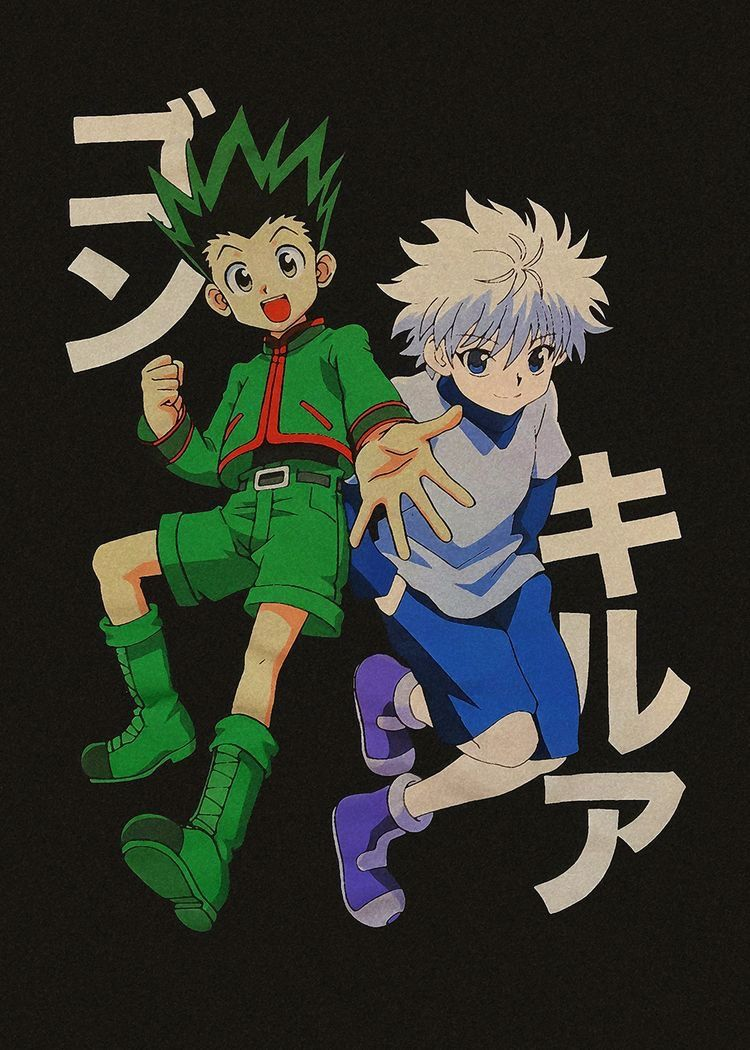 Iphone Gon And Killua Wallpapers Kolpaper Awesome Free Hd Wallpapers