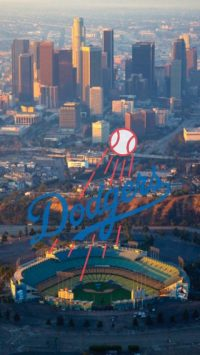 Los Angeles Dodgers Wallpaper iPhone