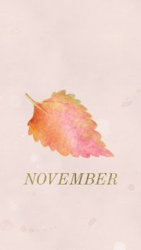 November Wallpaper Smartphone
