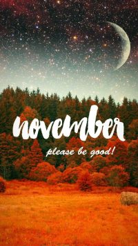 November Wallpaper iPhone