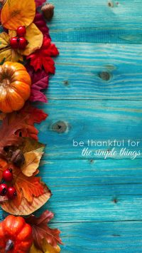 Thankful iPhone Wallpaper