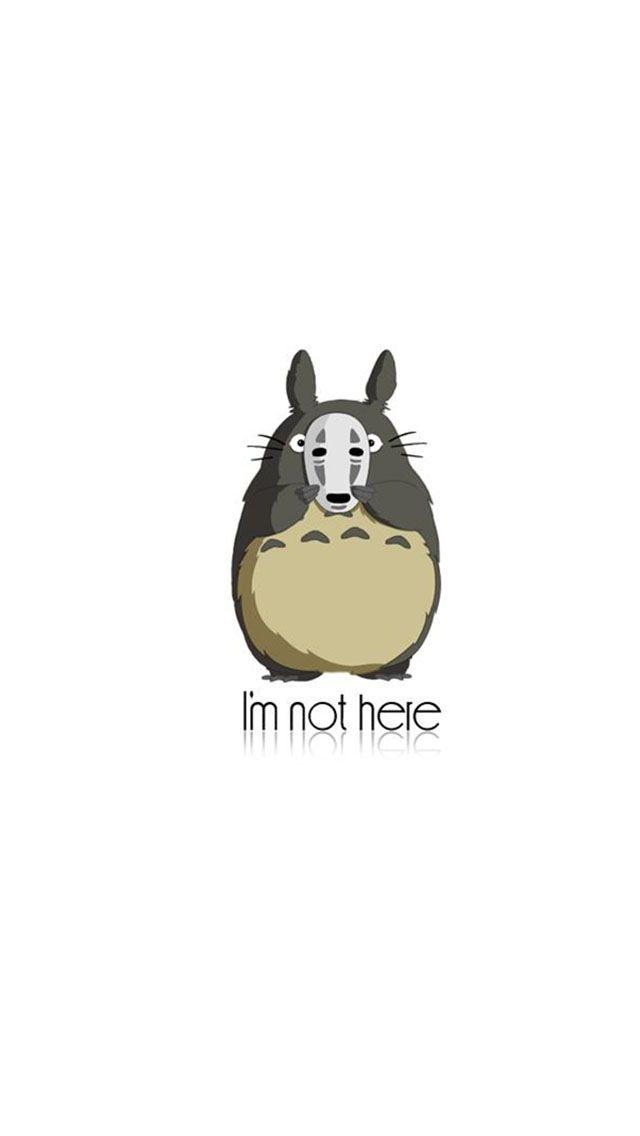 Totoro Phone Wallpaper