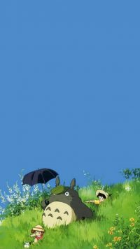 Totoro iPhone Wallpaper
