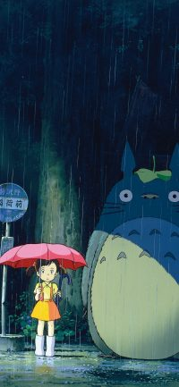 Totoro iPhone Wallpapers