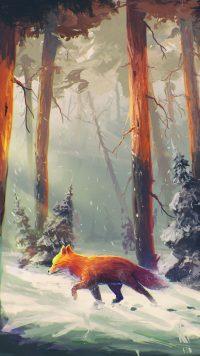Aesthetic Fox Wallpaper 2