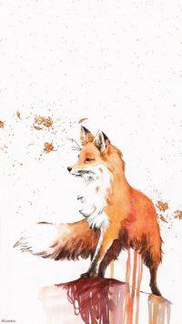 Aesthetic Fox Wallpaper