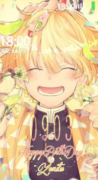 Cute Zenitsu Wallpaper 2