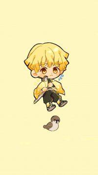 Cute Zenitsu Wallpaper 5