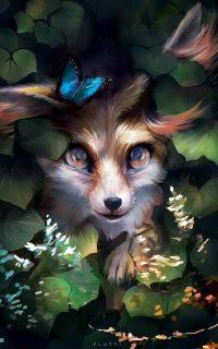 Fox Cute Wallpaper 2