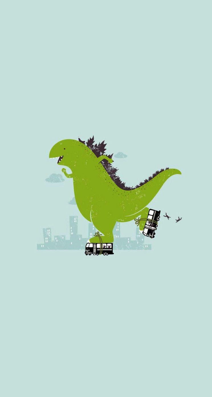 Funny Dinosaur Wallpaper 2