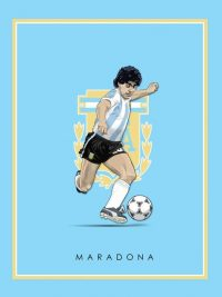 Maradona Wallpaper iPhone