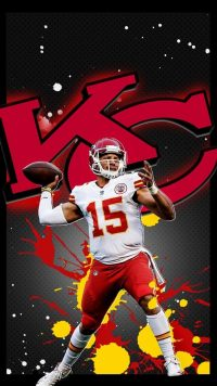 Patrick Mahomes iPhone Wallpaper 2