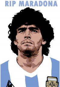 RIP Maradona Wallpaper