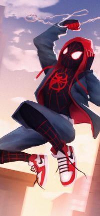 Spider-Man Spider-Verse Wallpaper 2