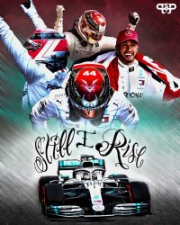 Still I Rise Lewis Hamilton Wallpaper