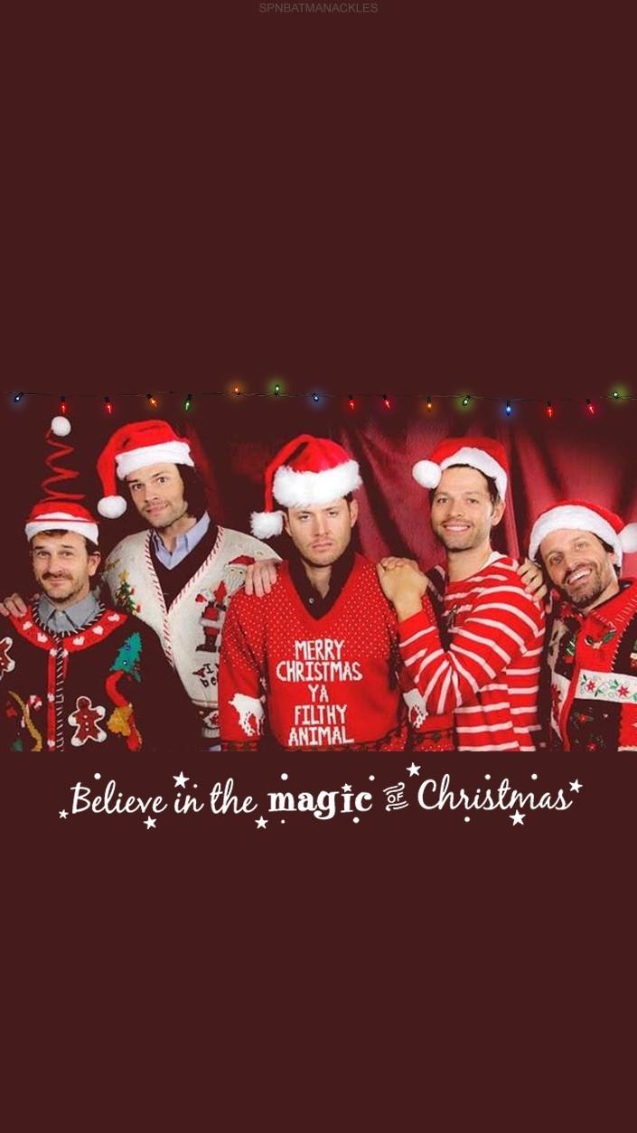 Supernatural Christmas Wallpaper