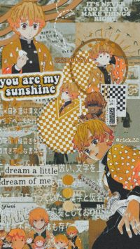 Zenitsu Anime Wallpaper
