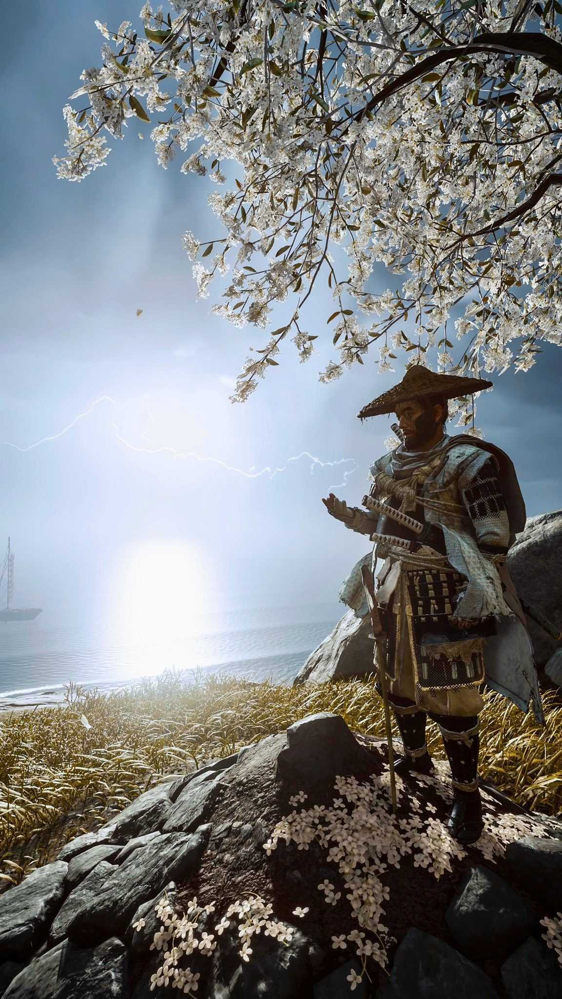 Android Ghost of Tsushima Wallpaper - KoLPaPer - Awesome ...