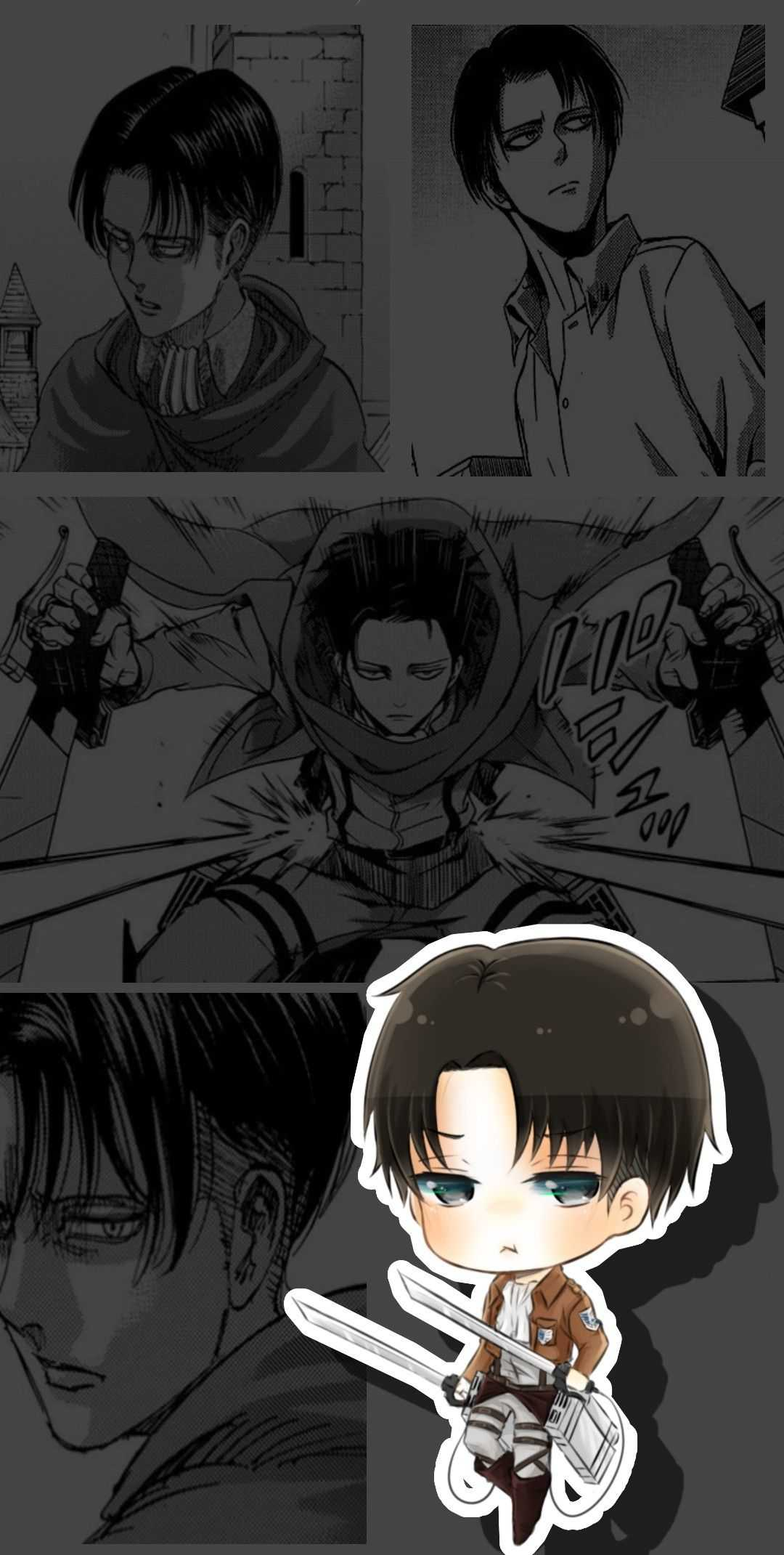 Cute Levi Ackerman Wallpaper