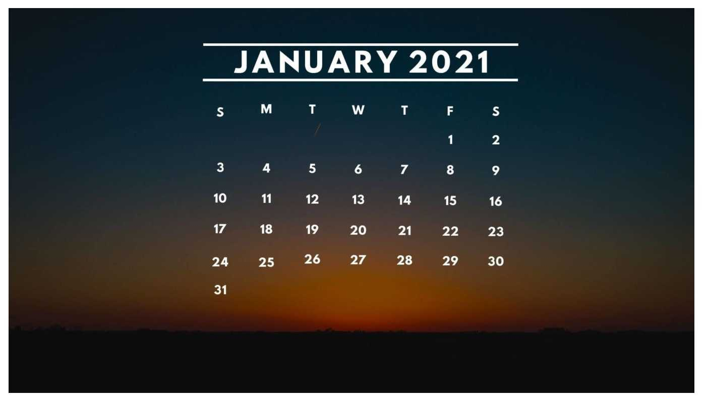 January Calendar 2021 Wallpaper Pc Kolpaper Awesome Free Hd Wallpapers