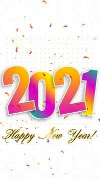 New Year Background 2021
