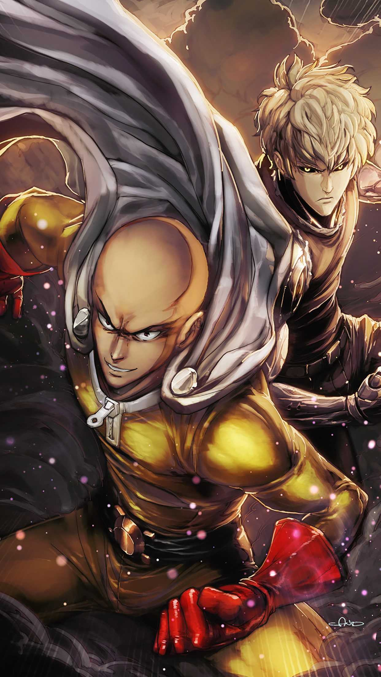 One Punch Man Wallpaper iPhone - KoLPaPer - Awesome Free ...
