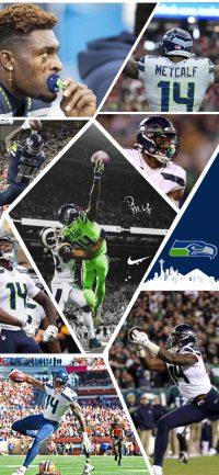 Seahawks DK Metcalf Wallpaper