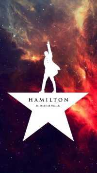 iPhone Hamilton Musical Wallpaper