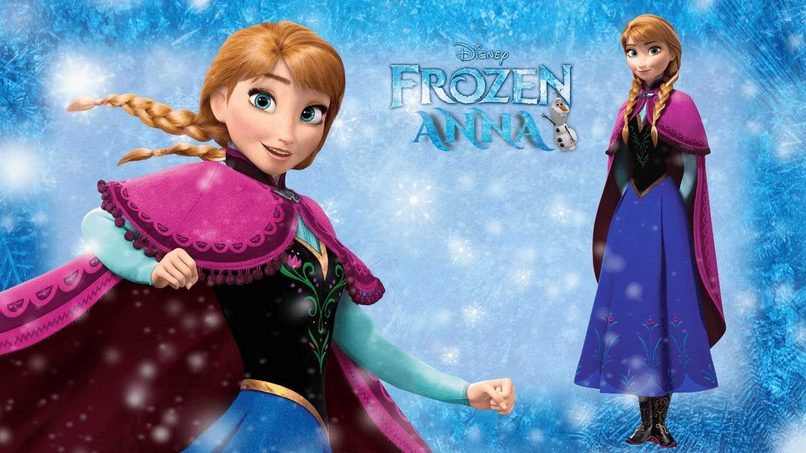 Anna Frozen Wallpaper