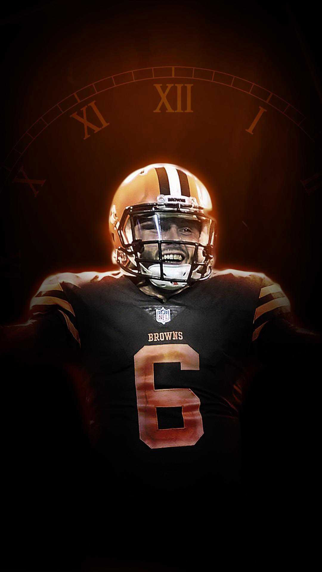 Baker Mayfield Wallpaper iPhone 2