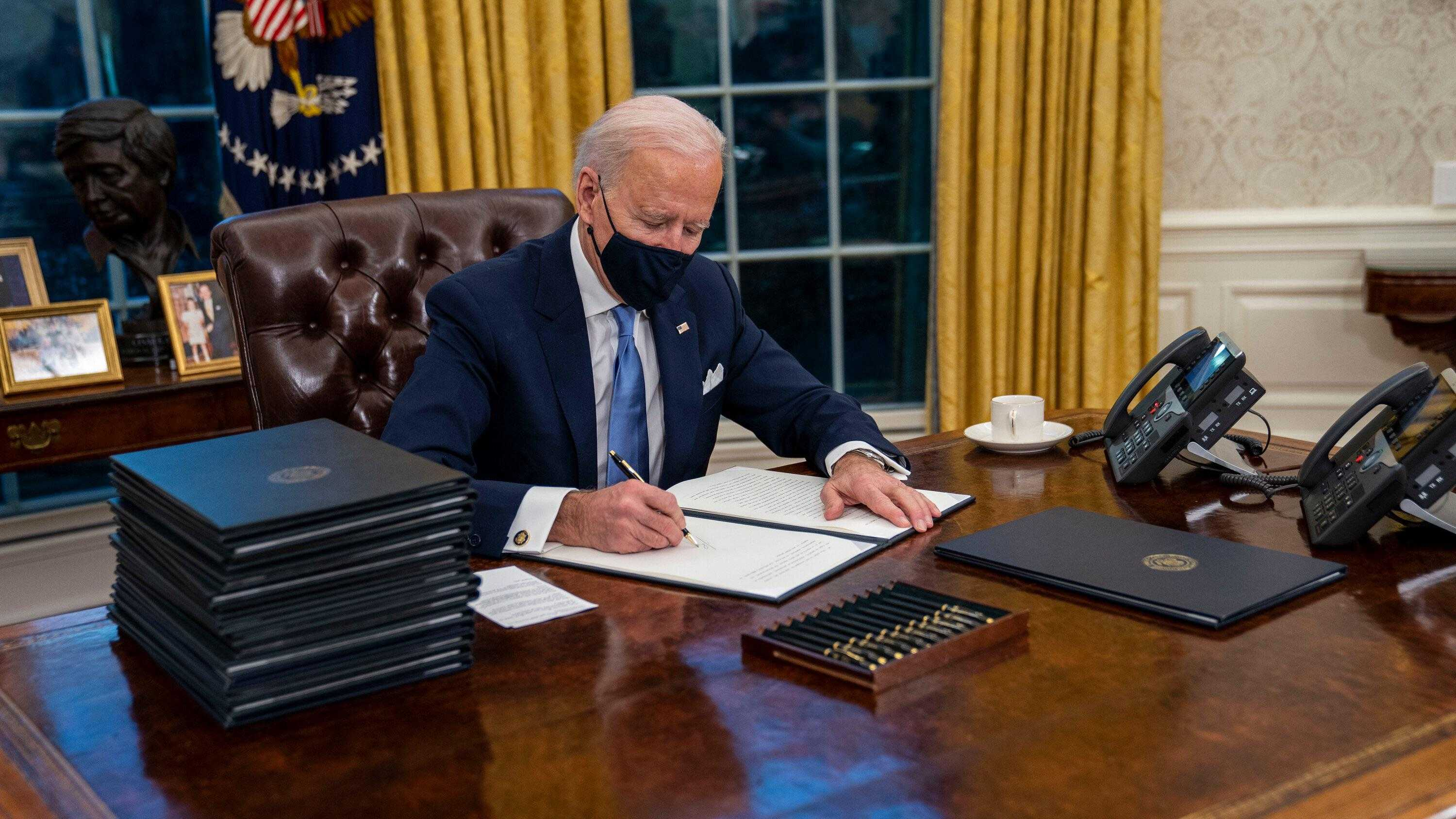 Biden Oval Office Wallpaper 3