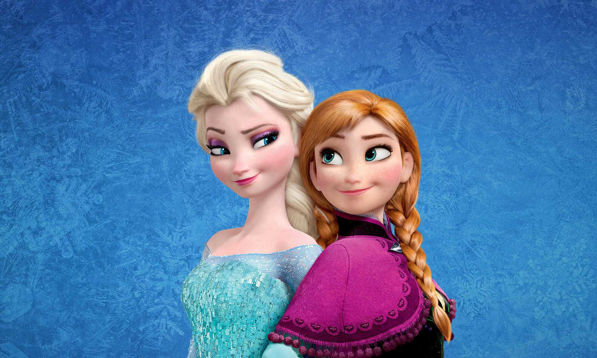 Elsa and Anna Wallpaper 3