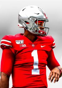 Justin Fields Wallpaper iPhone 2