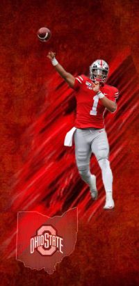 Justin Fields Wallpaper iPhone