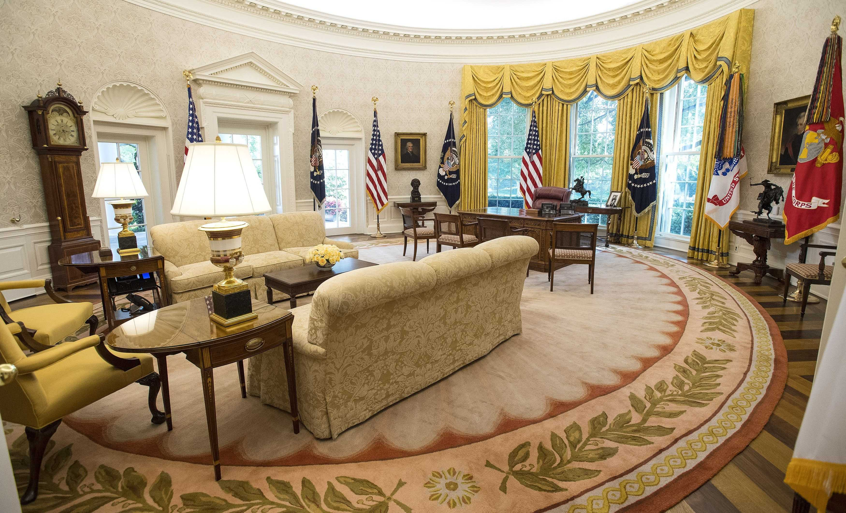 Oval Office Wallpaper 2