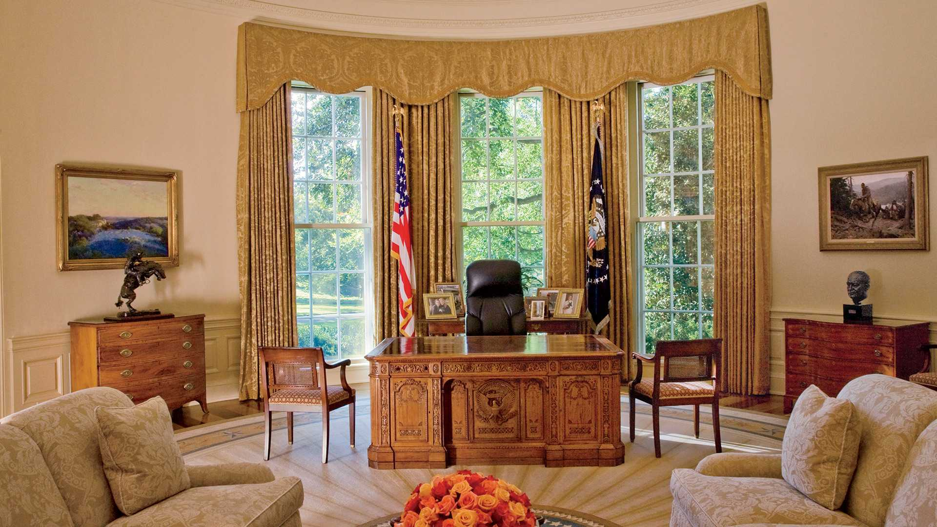 Oval Office Wallpaper 7