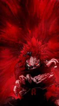 Red Riot Kirishima Wallpaper 2