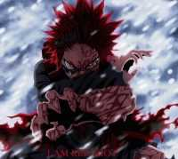 Red Riot Kirishima Wallpaper