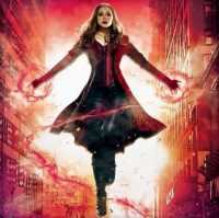 Scarlet Witch Background