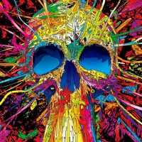Skull Psychedelic Wallpaper