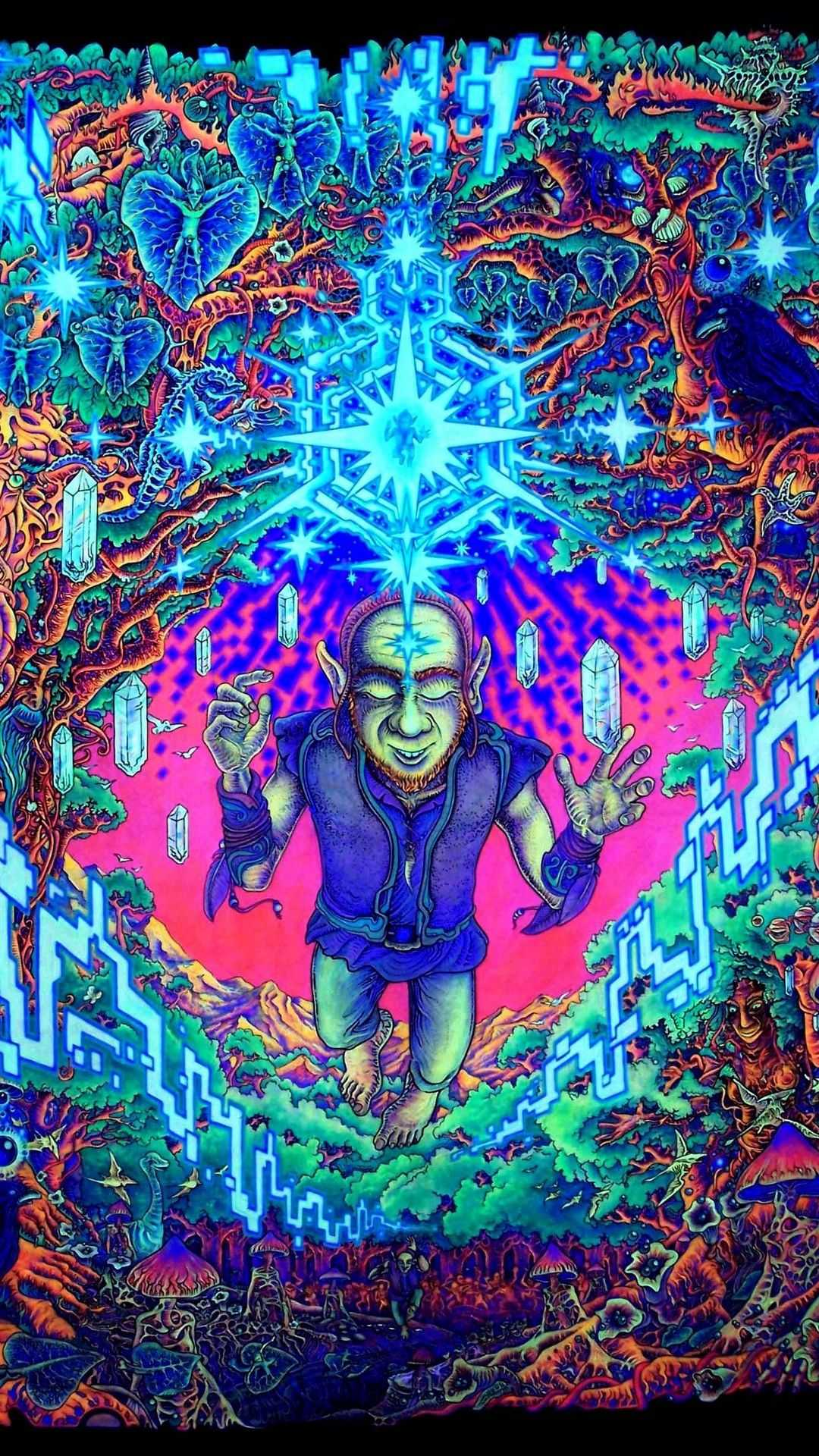 Trippy Psychedelic Wallpaper 1