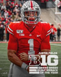 Wallpaper Justin Fields 2