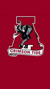 iPhone Alabama Crimson Tide Wallpaper
