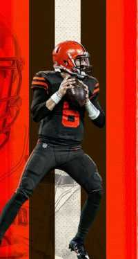 iPhone Baker Mayfield Wallpaper 1