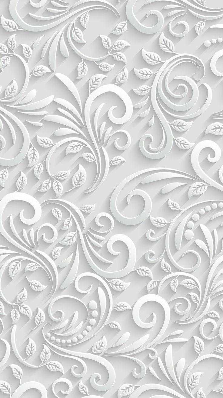 White Wallpaper 1