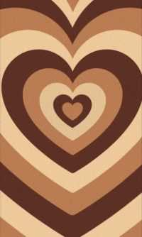 Brown Heart Wallpaper 8
