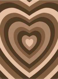 Brown Heart Wallpaper 7