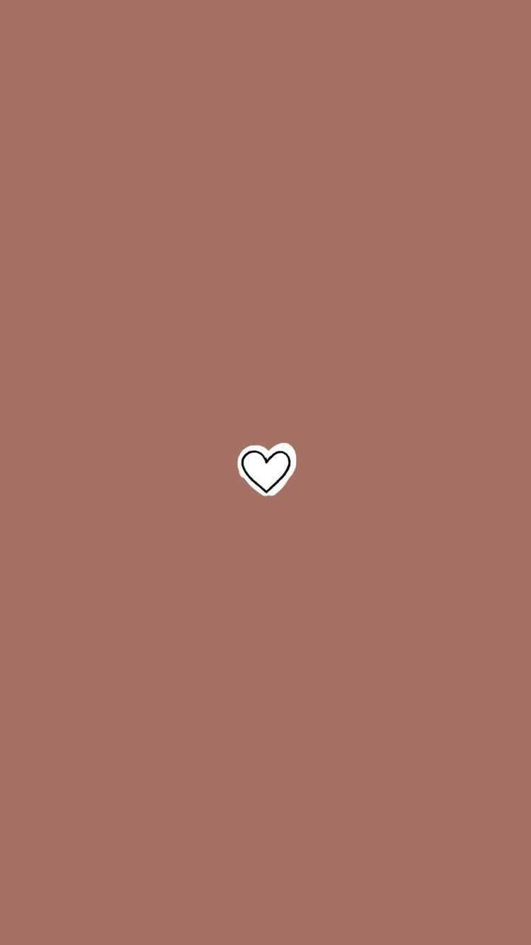 Brown Heart Wallpaper - KoLPaPer ...