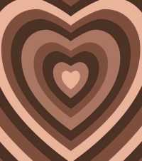 Brown Heart Wallpaper 1